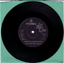 Robotman single A side label