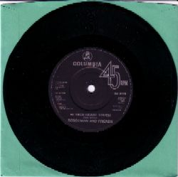 Robotman single b side label